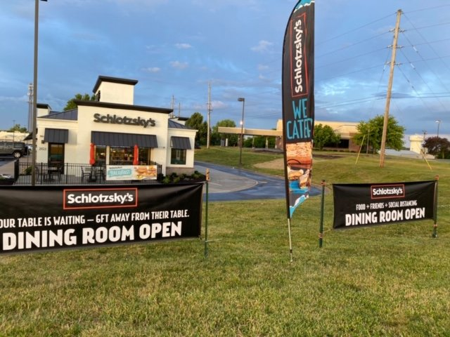 Schlotzsky's: 2023 Foxwood Dr, Raymore, MO