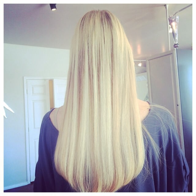Hair Extension Bar Hair Color And Highlight Bar Yelp