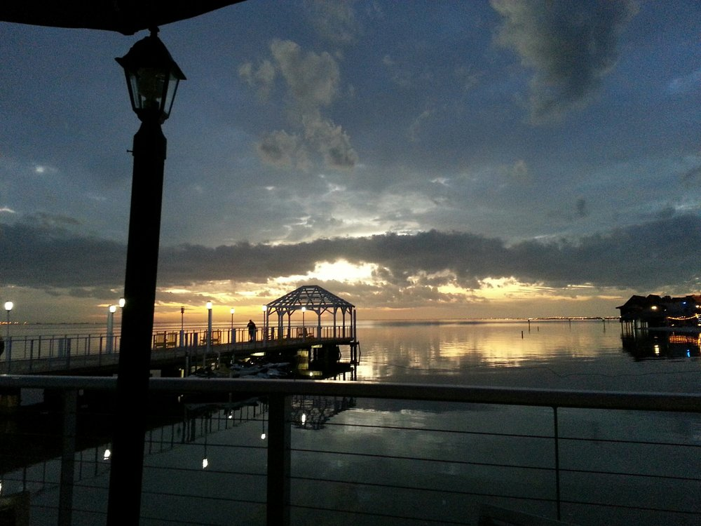 Photo Of Beach Bar Restaurant Tampa Fl United States Sunset From