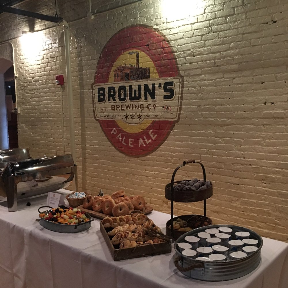 Brown's Revolution Hall: 425 River St, Troy, NY
