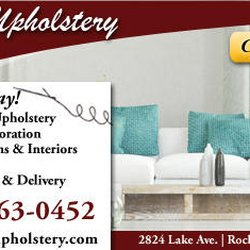 Photo Of Lake Upholstery Rochester Ny United States Ad Ed By