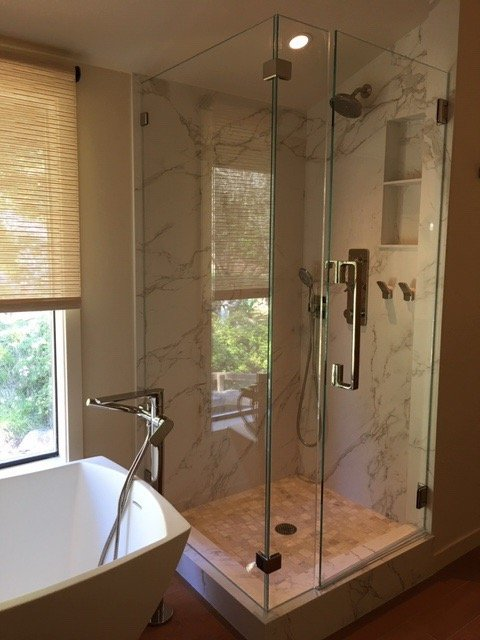 Master bath shower - Yelp