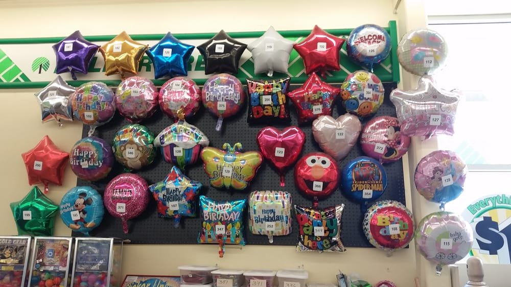 Happy Birthday Balloons Dollar Tree Photo Of