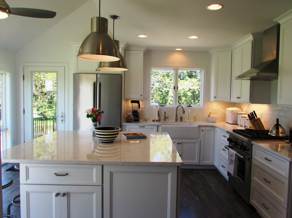 Gorgeous Kitchen Renovation In Potomac Maryland: Beautiful Kitchen Remodel In Middletown, MD With White