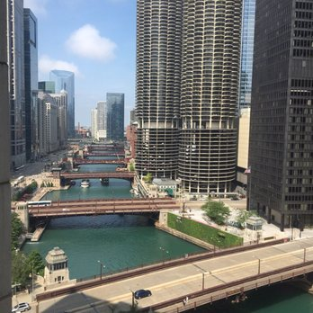 Photo Of River Hotel Chicago Il United States The View From Our