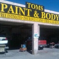 Toms Paint And Body Yuma Az