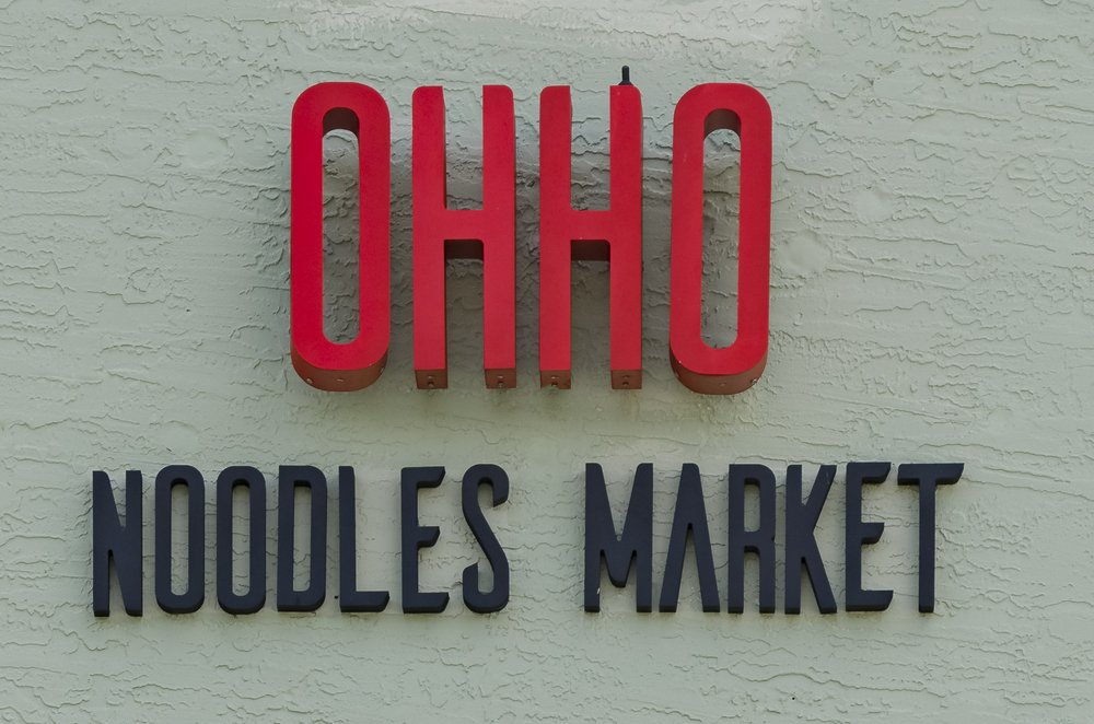 Food from Ohho Noodles Market