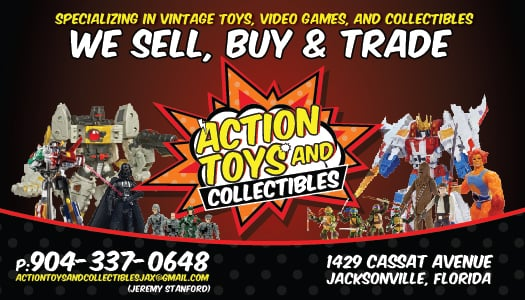 Action Toys and Collectibles: 1429 Cassat Ave, Jacksonville, FL