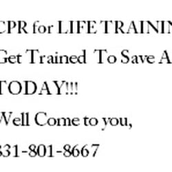 Life CPR Training - First Aid Classes - 1860 Morning Glory