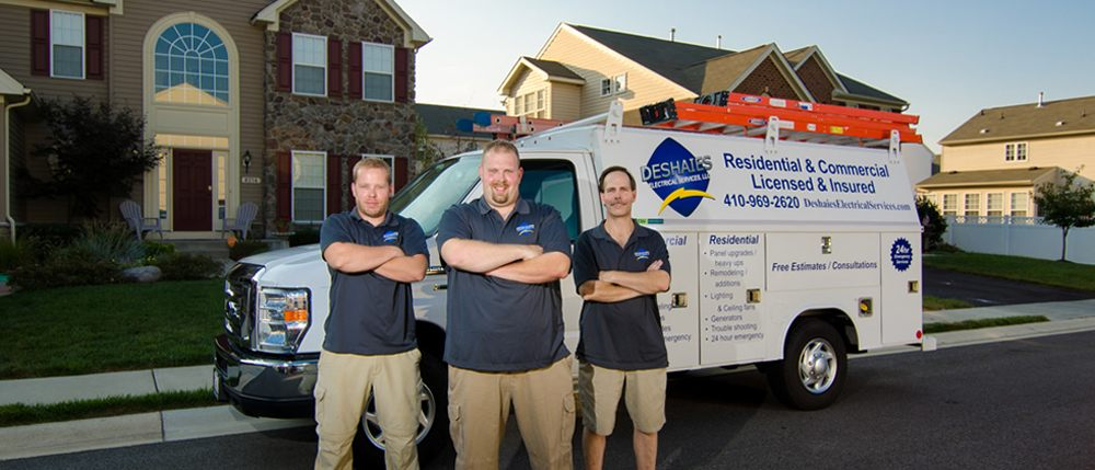 Deshaies Electrical Services: 1230 Annapolis Rd, Odenton, MD