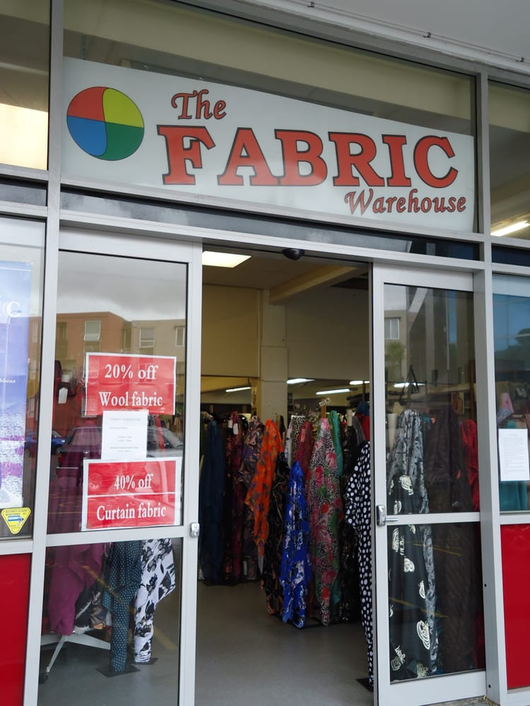 Fabric warehouse fabric stores 5 harold street mt for Fabric outlet near me
