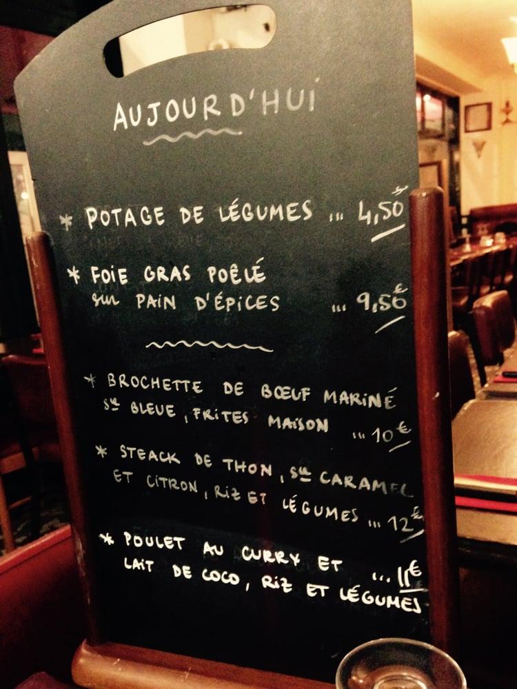 Restaurant Rue Sorbier Paris