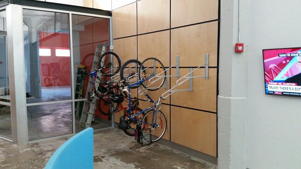 Indoor Bicycle Parking Like Yelp