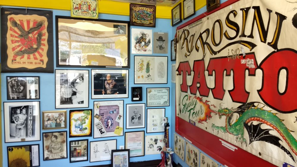 Northwest Tattoo Museum & Tattooing: 2934 N Government Way, Coeur d'Alene, ID