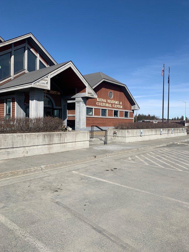 Greater Kenai Visitors'center: 402 Overland Ave, Kenai, AK