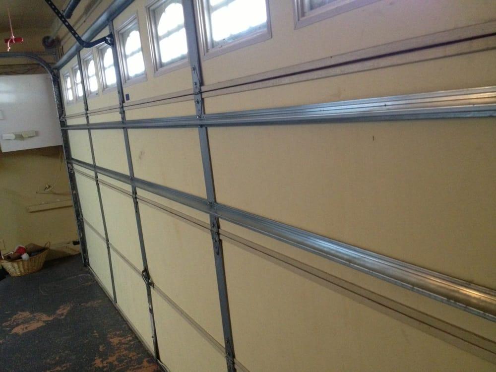2 new struts added to reinforce garage door yelp for Garage new s villejuif