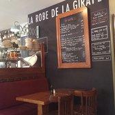 la robe de la girafe 15 photos 14 avis brasseries 5 rue froment bastille paris. Black Bedroom Furniture Sets. Home Design Ideas