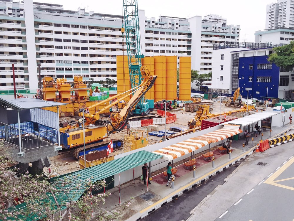 The marine terrace mrt station is scheduled to start for 18 marine terrace