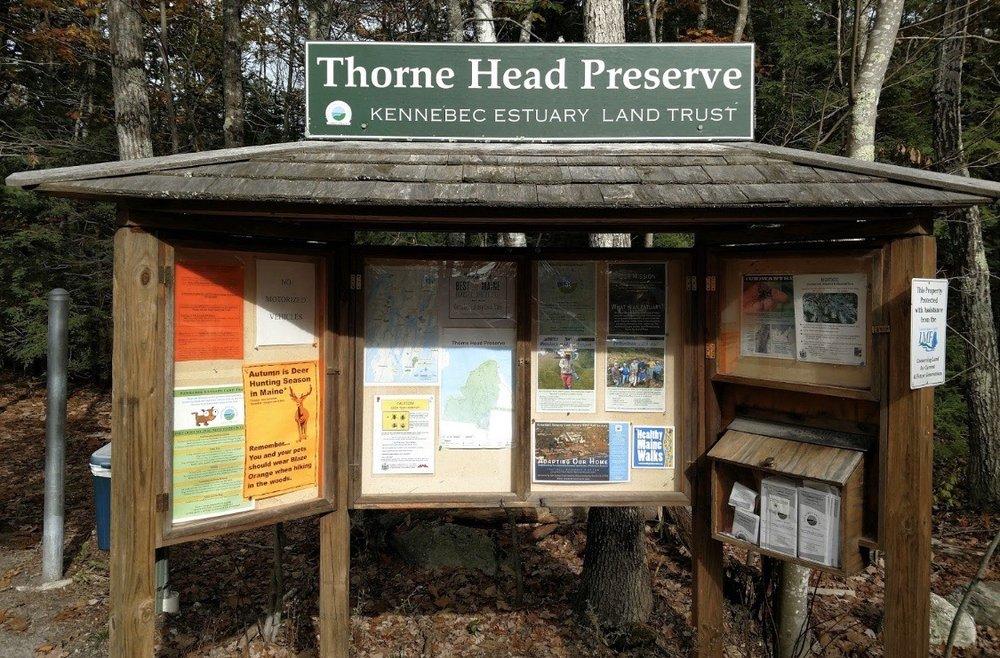 Thorne Head Preserve Trail: Whiskeag Trl, Bath, ME