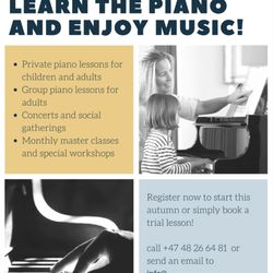 Oslo International Piano Studio - Musical Instruments