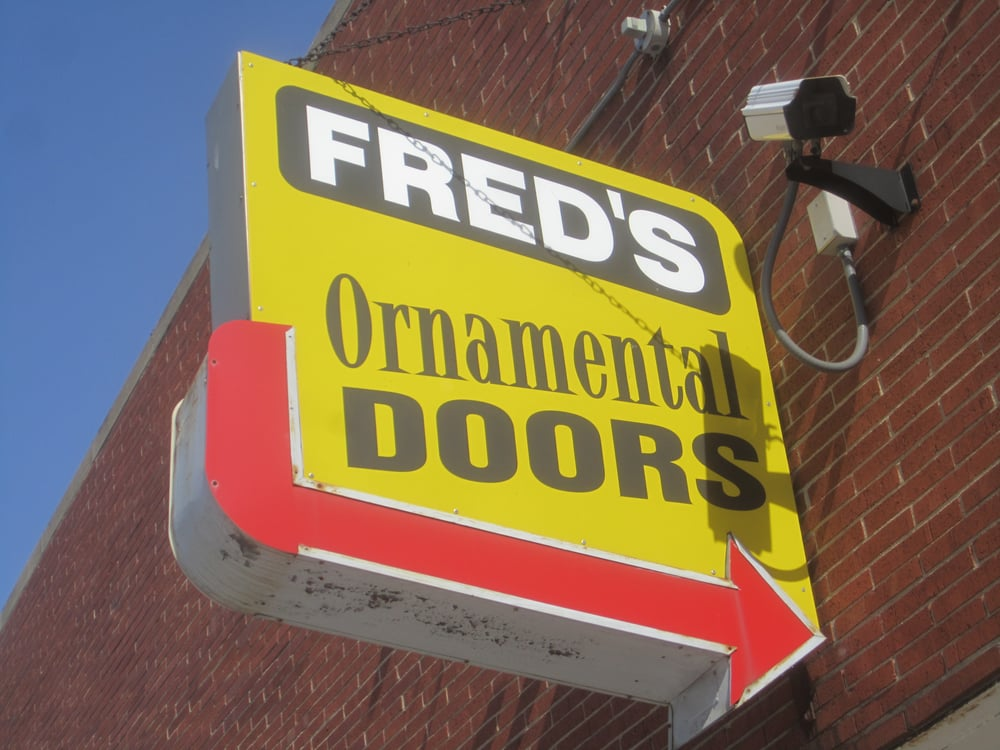 Fred's Ornamental Security Doors