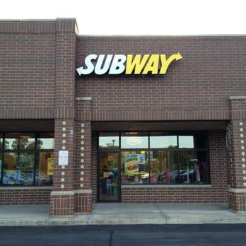 Subway Map Naperville.Subway Sandwiches 2305 S Washington St Naperville Il