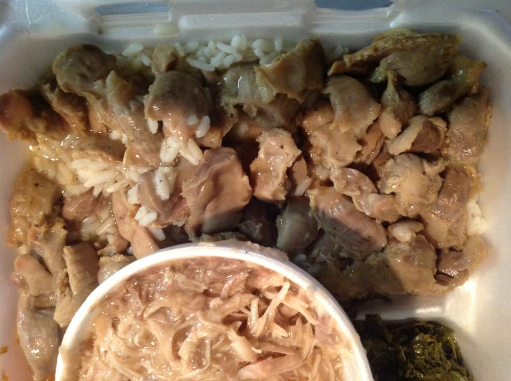 Large combination meal: turkey & gravy (in small container