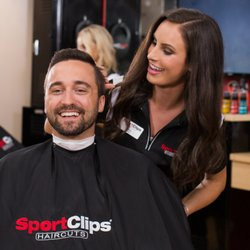 You deserve an MVP experience from a stylist who is an expert in haircuts for men and boys. Visit a Sport Clips near you in to relax and watch the game.