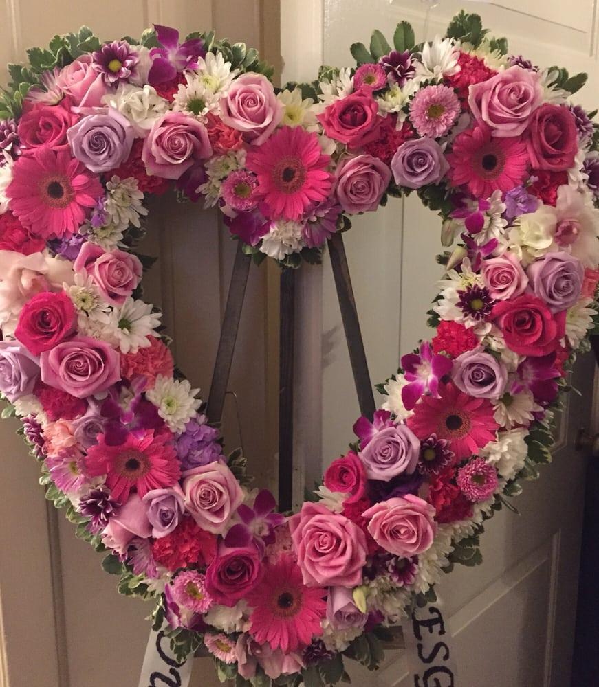 Beautiful Flower Arrangement Love The Color Combination Yelp