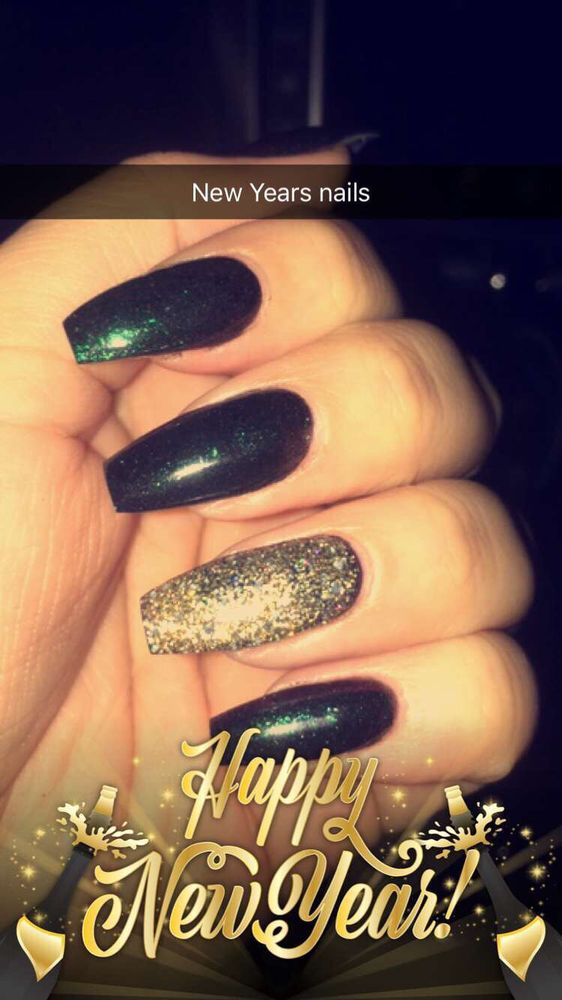 Bo hooks it up again! New Years nails! - Yelp