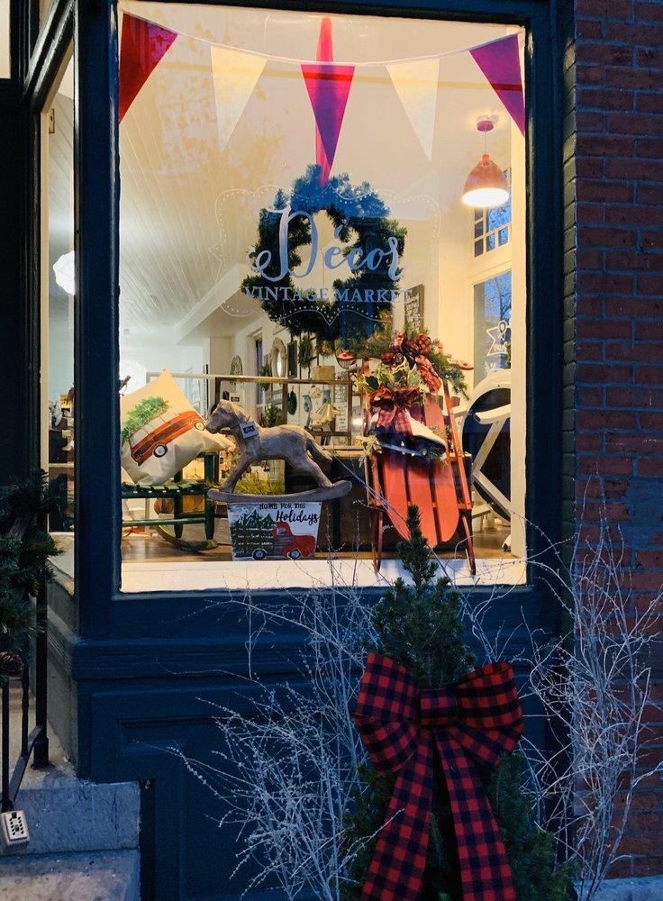 Decor Vintage Market: 982 State St, New Haven, CT