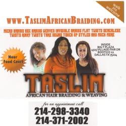 taslim african hair braiding weaving hair stylists