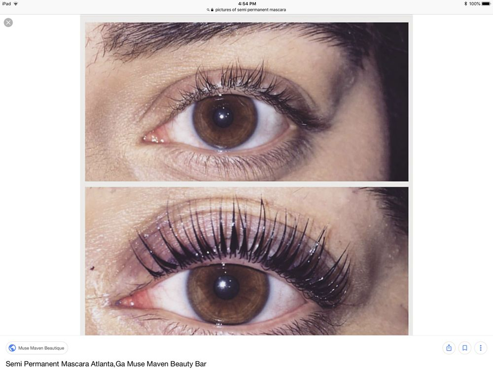 Amazing New Eyelash Lift And Semi Permanent Mascara Lasts 3 Weeks