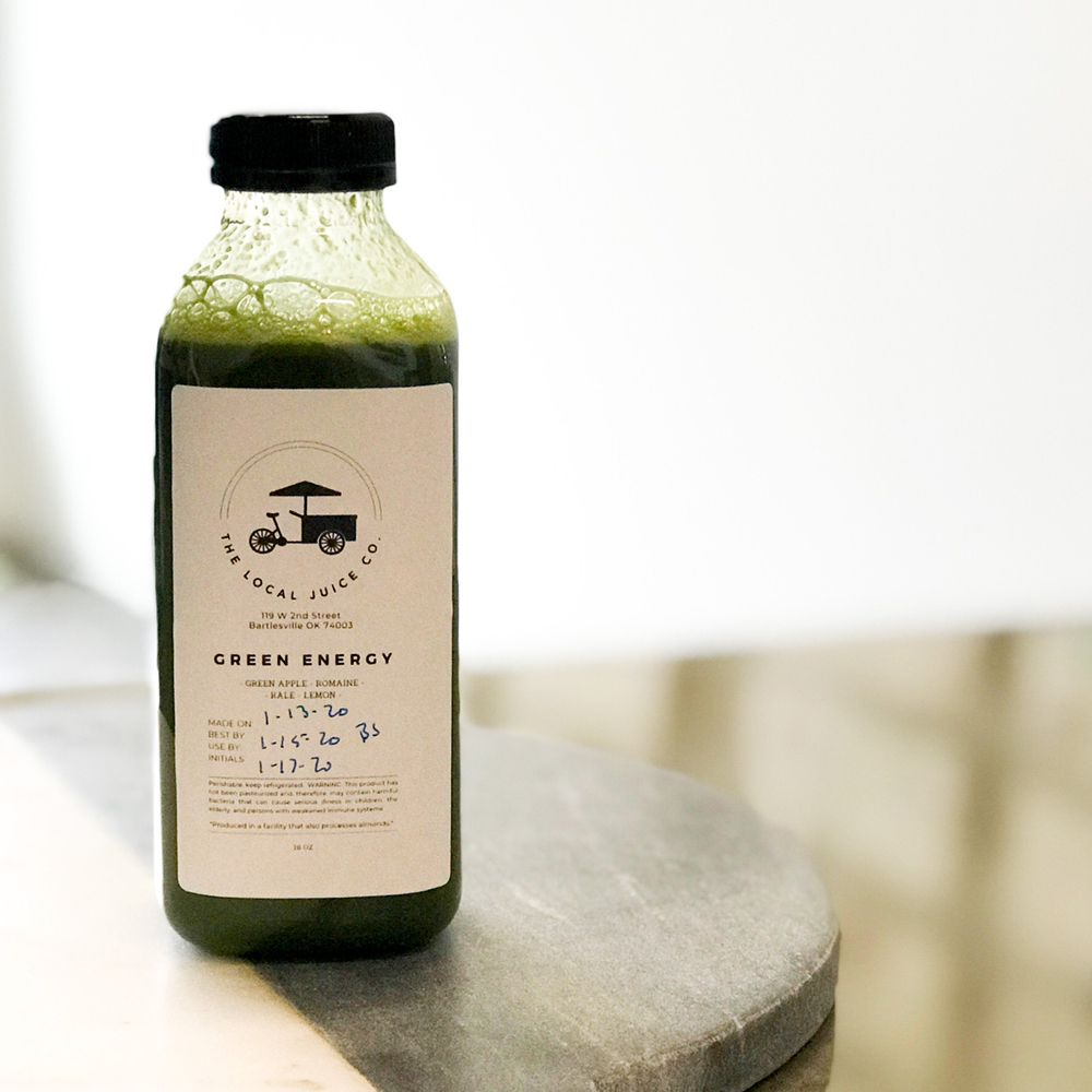 The Local Juice Company: 119 W 2nd St, Bartlesville, OK