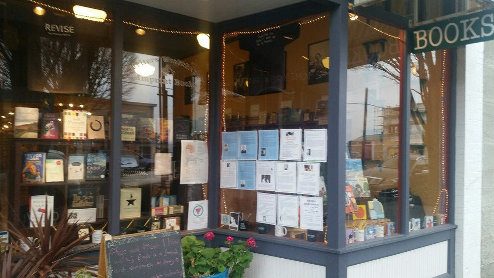 The Writers Workshoppe and Imprint Books: 820 Water St, Port Townsend, WA