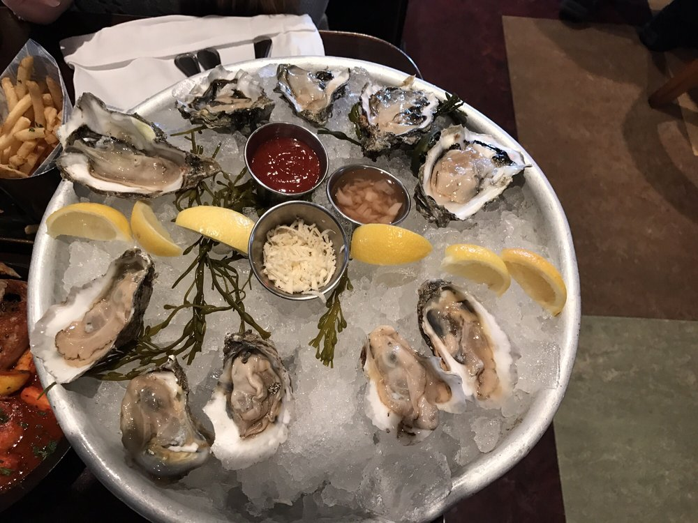 Hmm how many oysters can you count if you said a dozen for King s fish house laguna hills