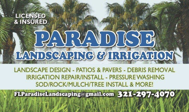 Paradise Landscaping Irrigation Get Quote International Drive I Orlando Fl Phone Number Last Updated December 11
