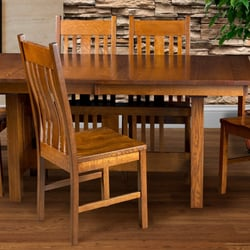 Photo Of Countryside Amish Furniture Arthur Il United States Crespi Mission Dining