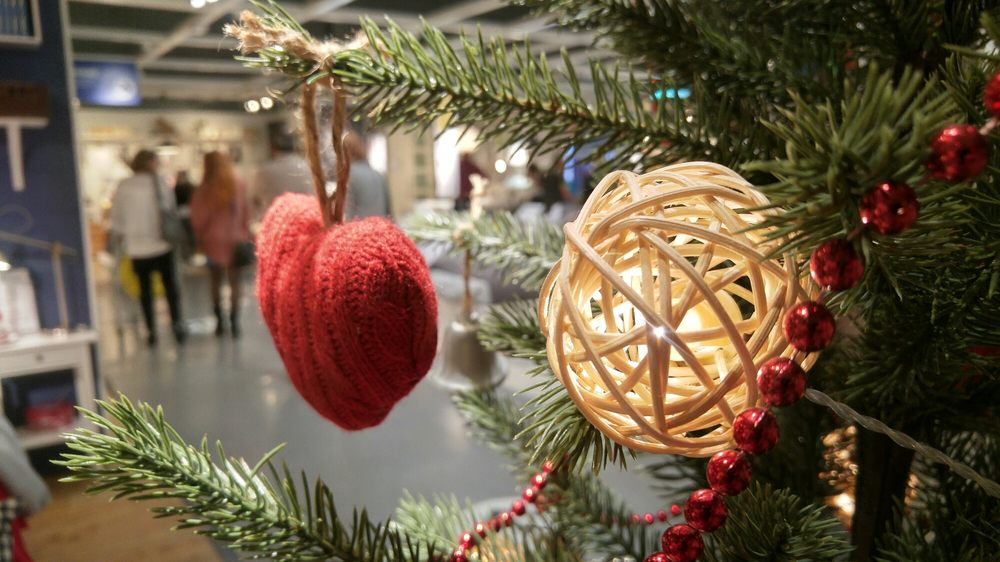 Photo of Ikea - Murcia, Spain. Christmas decorations. Ikea, Murcia, Spain