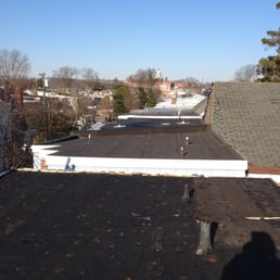 Photo Of Brooks Family Roofing   Wilmington, DE, United States. Flat Roof  Job