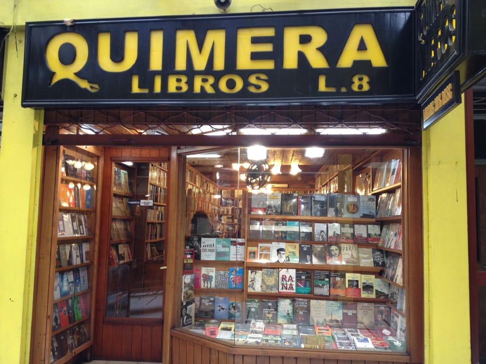 Quimera libros librer as nueva de lyon 45 providencia rm santiago n mero de tel fono yelp - Libreria couceiro santiago ...