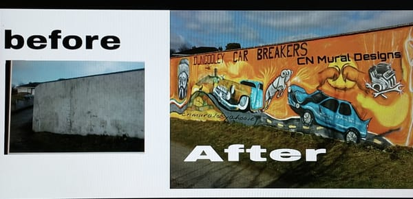 Cn mural designs peintre dundalk co louth irlande for Mural irlande