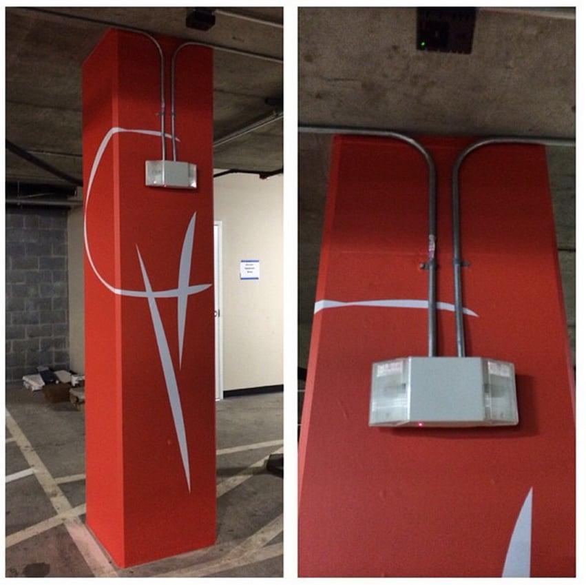 Concrete Column Wrap Using Arlon It 39 S All In The Details