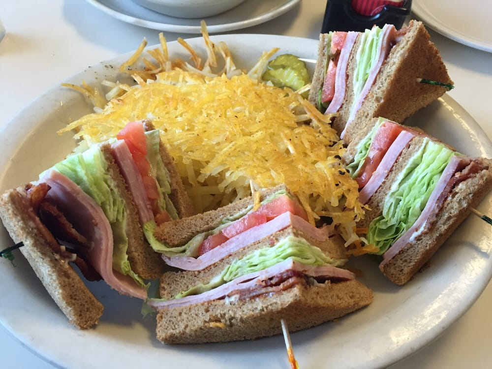 Photo Of Country Kitchen Bakersfield Ca United States Club Sandwich With Hash