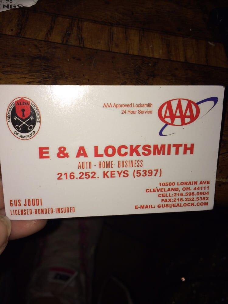 E & A Locksmith