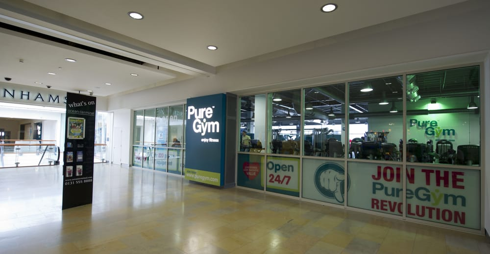 Pure gym edinburgh deals