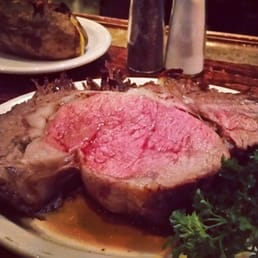 The River Palm Terrace - Edgewater, NJ, United States. The one and only bone in prime rib.