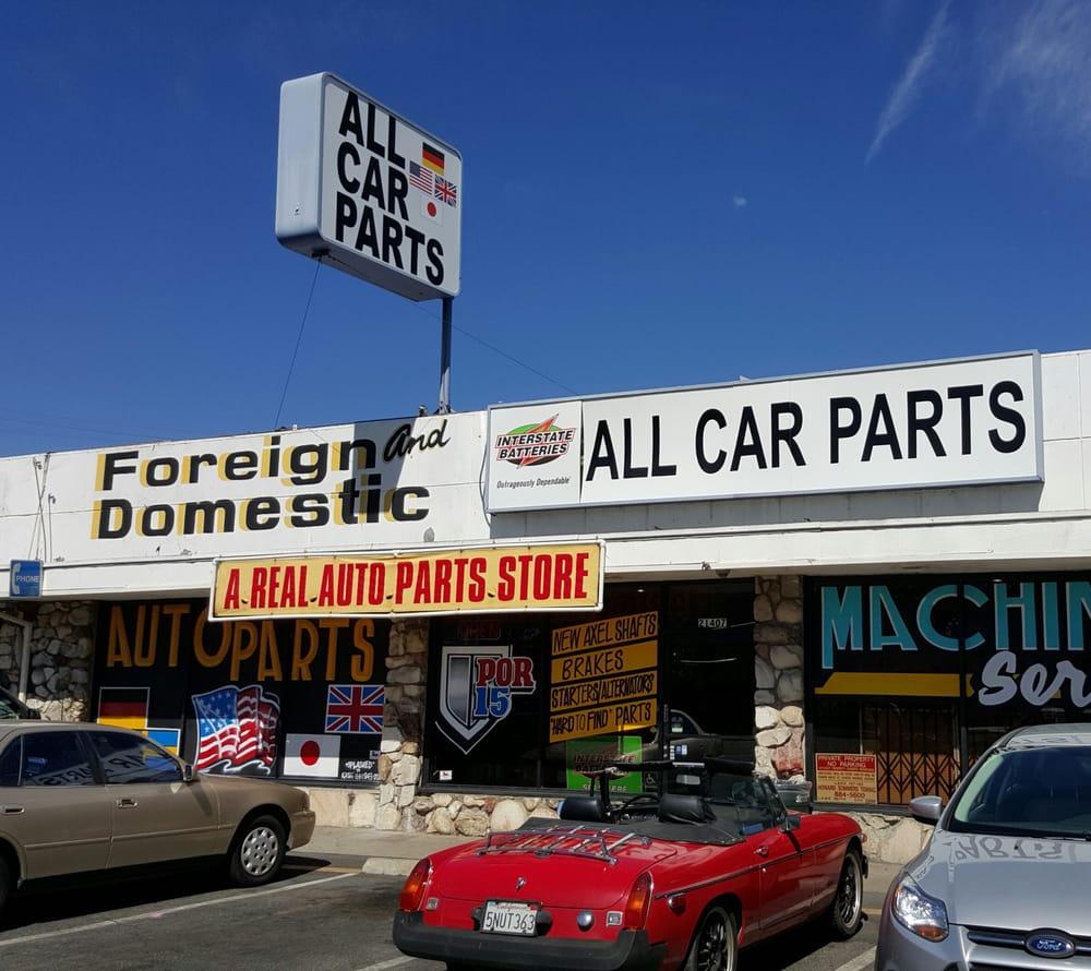 All Car Parts Canoga Park