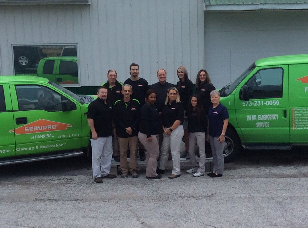SERVPRO of Hannibal: 119 Corporate Square, Hannibal, MO