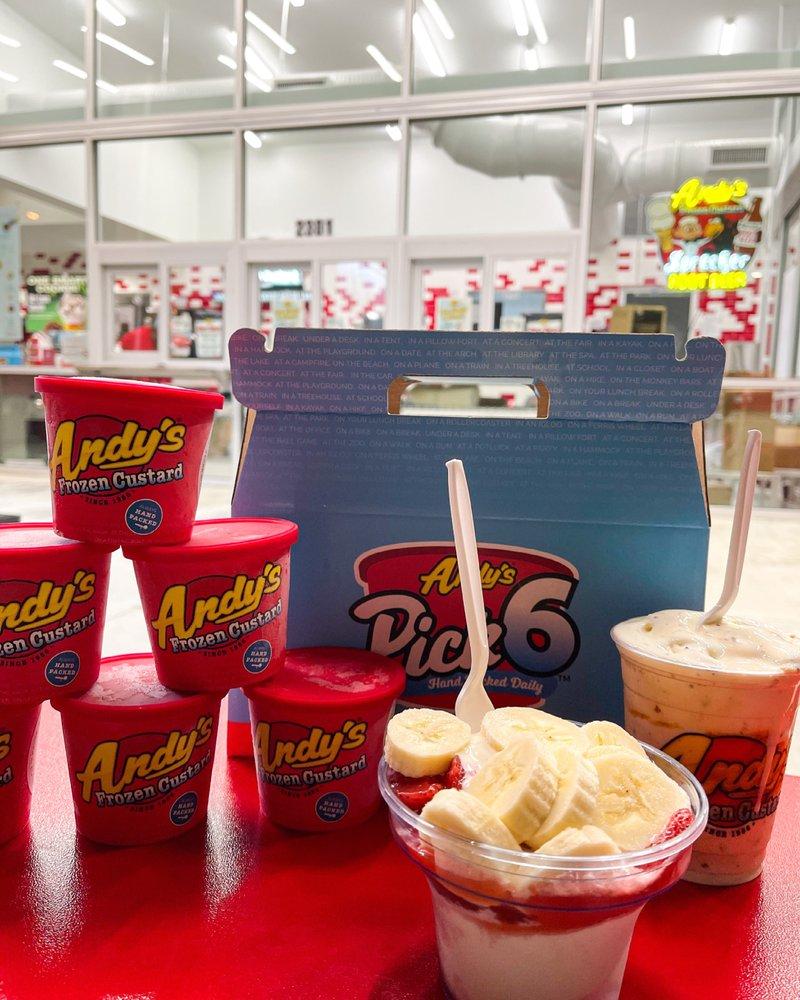 Andy's Frozen Custard: 2301 Kaliste Saloom Rd, Lafayette, LA
